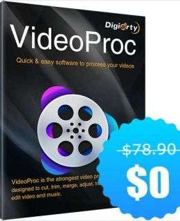 VideoProc for PC/Mac - A New 4K Video Processing Software ($78 Value) FREE For a Limited Time