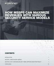 How MSSPs Can Maximize Revenues With Various Security Service Models