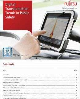 Digital Transformation Trends in Public Safety