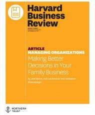 Making Better Decisions in Your Family Business