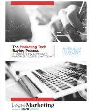 The Marketing Technology Buying Process
