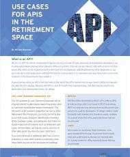 Use Cases for APIs in the Retirement Space