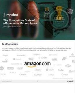 The Competitive State of the eCommerce Marketplaces