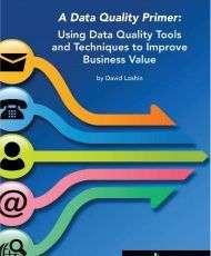 Data Quality Primer