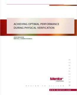 Achieving Optimal Performance During Physical Verification