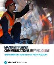 Boost Manufacturing Communications: A Buying Guide for Your Specific Priorities