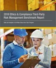 2018 Ethics & Compliance Third-Party Risk Management Benchmark Report