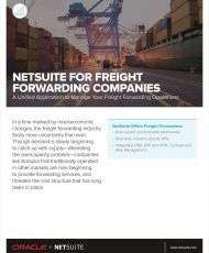 Moving Business Forward: Unified Financials for Your Freight Forwarding Business