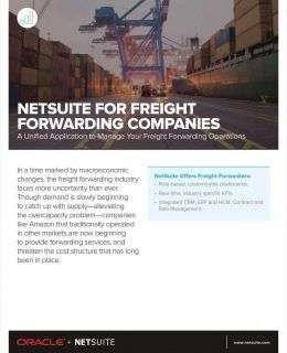 Moving Business Forward: Unified Financials for Your Freight