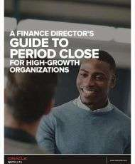 A Finance Director's Guide to Period Close for High Growth Organizations