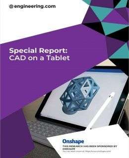Special Report: CAD on a Tablet