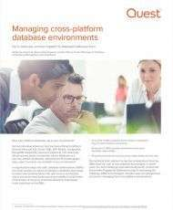 Managing Cross-Platform Database Environments