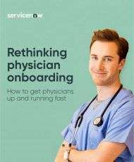 Rethinking Physician Onboarding
