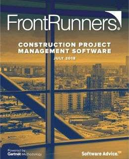 Updated: Top Rated FrontRunners for Construction Project Management Software