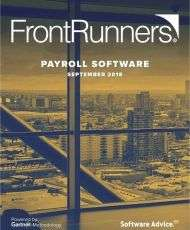 Top Rated FrontRunners for 2019 Payroll Software