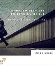 Managed Services Pricing Guide 2.0