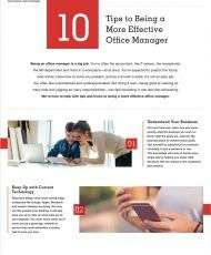10 Tips for Office Managers