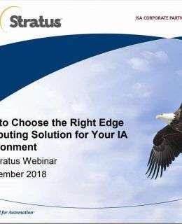 Which Edge Computing Solution is Right for Your IA Environment?