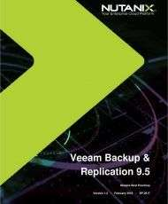 Veeam Backup and Replication 9.5