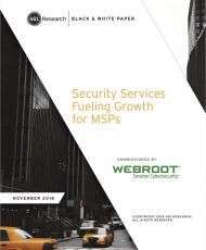 Research 451: Security Services Fueling Growth for MSPs