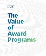 The Benefits of Award Programs