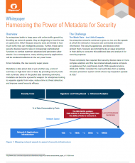 wp harnessing the power of metadata for security cover 190x230 - Harnessing the Power of Metadata