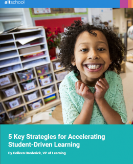 5 Key Strategies for Accelerating Student Driven Learning cover 260x320 - 5 Key Strategies for Accelerating Student-Driven Learning