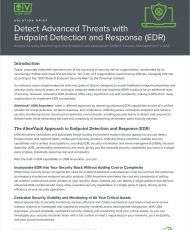 Detect Advanced Threats with Endpoint Detection and Response (EDR)
