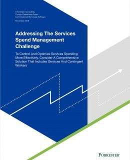Addressing the Services Spend Management Challenge