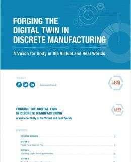 Forging The Digital Twin in Discrete Manufacturing