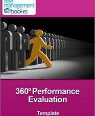 360° Performance Evaluation Template