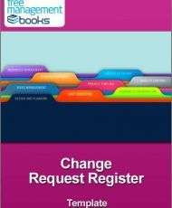 Change Request Register Template