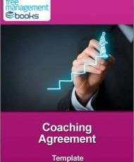 Coaching Agreement Template