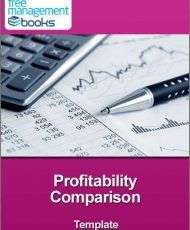 Profitability Comparison Template