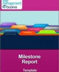 Milestone Report Template