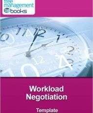 Workload Negotiation Template