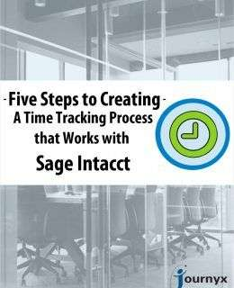 Five Steps to Creating a Time Tracking Process that Works with Sage Intacct