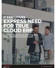 IT Executive Express Need for True Cloud ERP