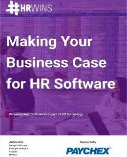 Report: Making Your Business Case for HR Software