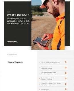 Construction Software ROI