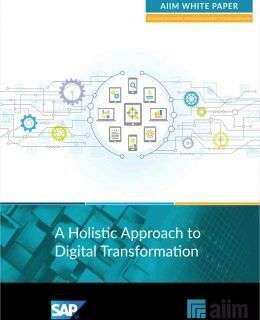 A Holistic Approach to Digital Transformation