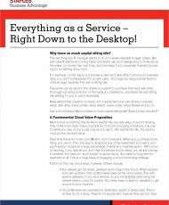 Everything as a Service: Even Your Desktop