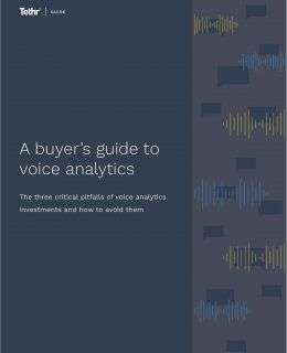 A Buyer's Guide to Voice Analytics