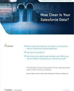 How Clean is Your Data
