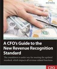 A CFO's Guide to the New Revenue Recognition Standard