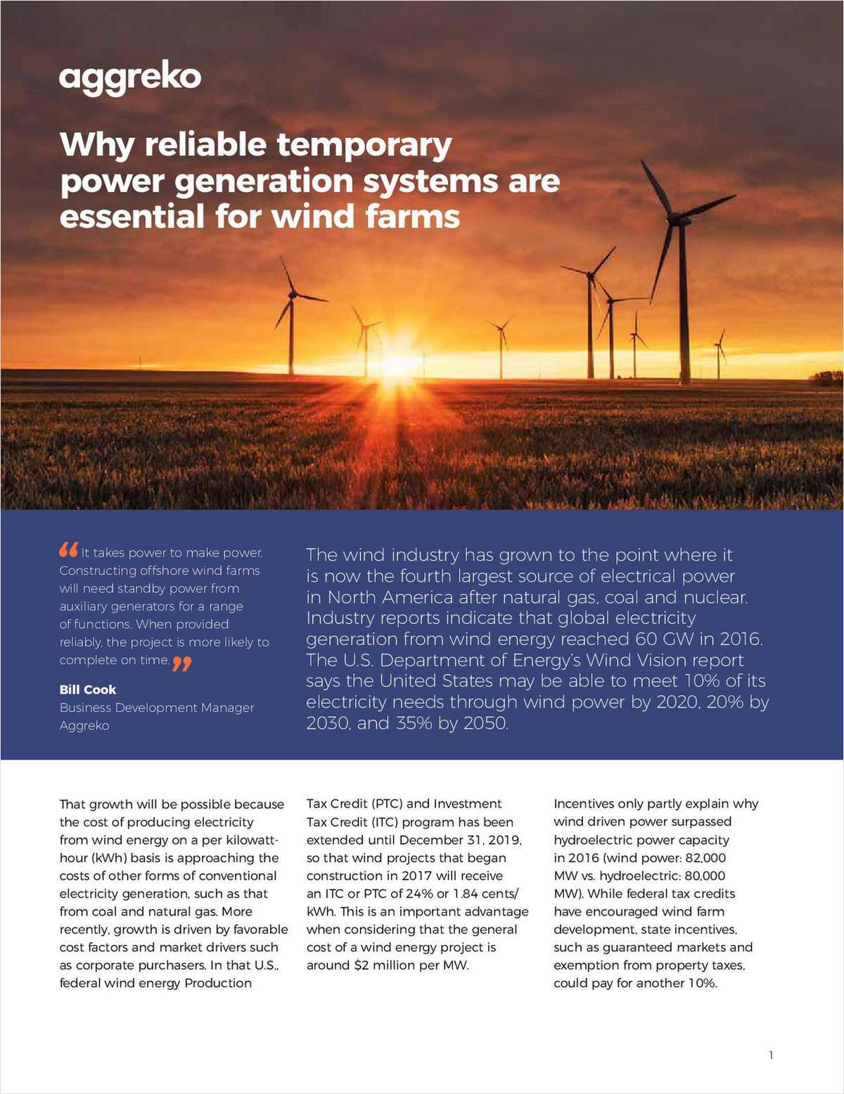 Why reliable temporary power generation systems are