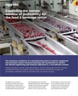 Expanding the narrow window of profitability for the Food & Beverage sector