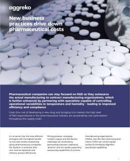 New business practices drive down pharmaceutical costs