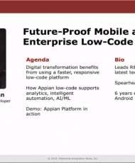 Future-Proof Mobile and IoT with Enterprise Low-Code
