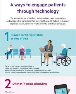 4 ways to engage patients through technology